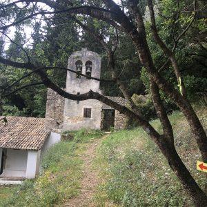 Corfu, mountain, trail, trailrunning, cairn